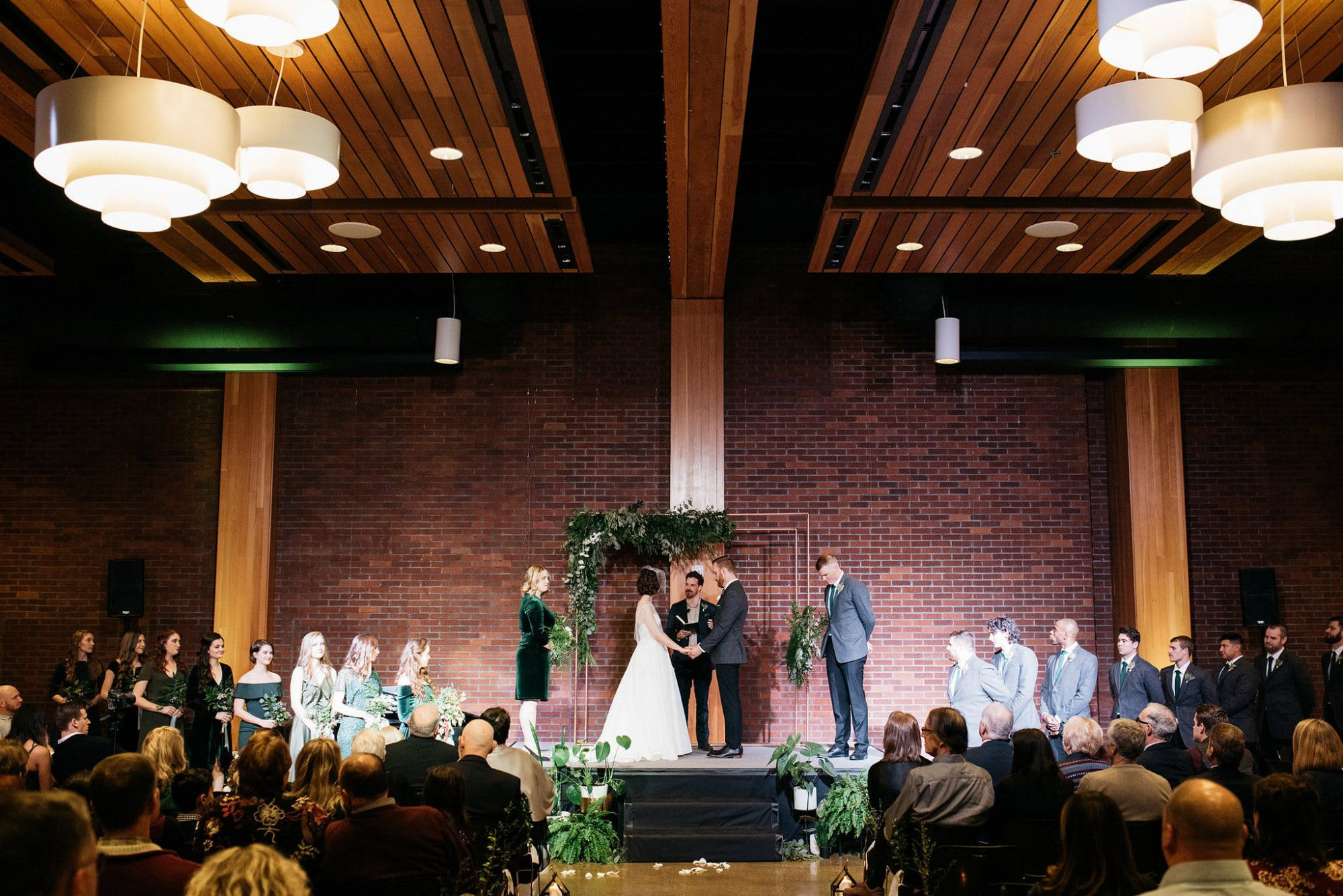 Chehalem Cultural Center wedding