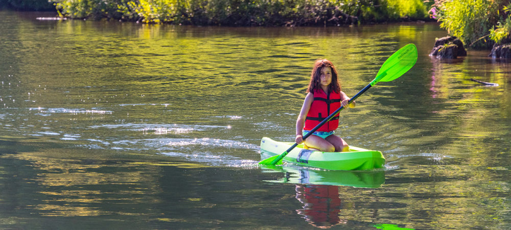Paddling on the Willamette River