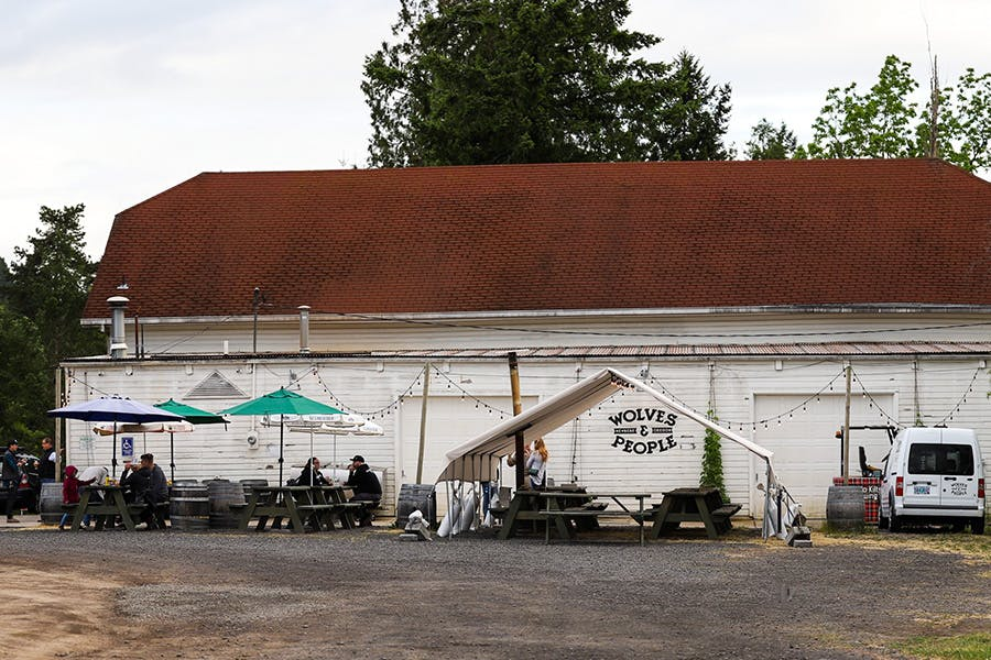 Wolves People Farmhouse Brewery exterior2