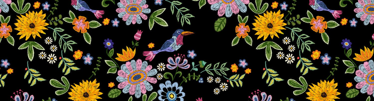 fabric pattern floral