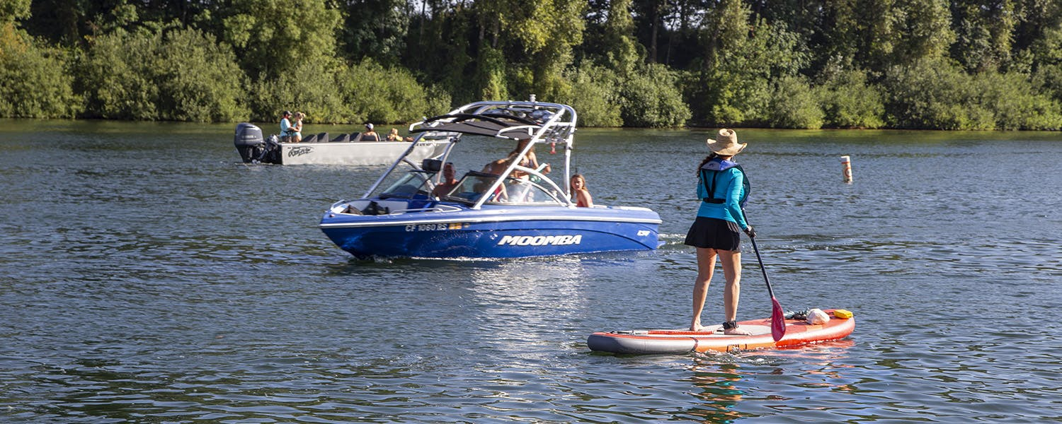 stand up paddle boating