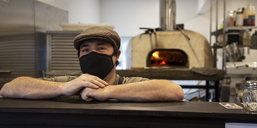 Chef Utz at Forage - Photo by Ron Miller