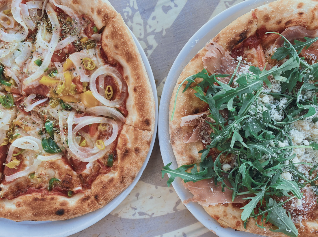 forage cafe pizza